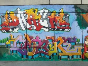 tipografías típicas de graffiti