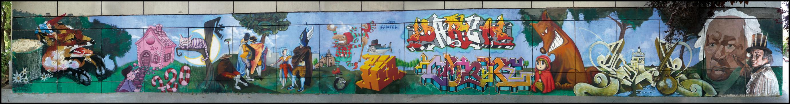 GRAFFITI EN TEATRO SANPOL