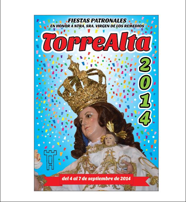 portada Libro fiestas TORREALTA 2014
